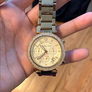Michael Kors watch needs battery's used